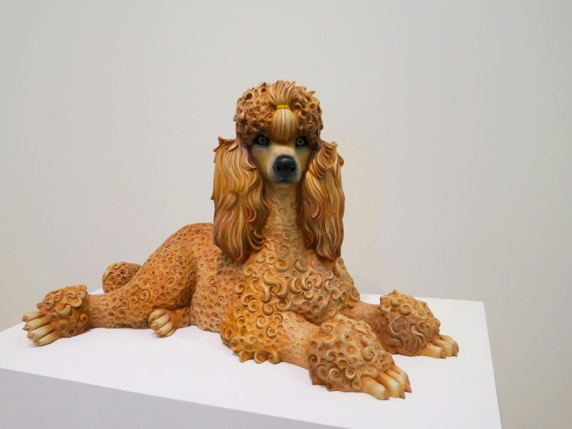 """Poodle"" by Jeff Koons"