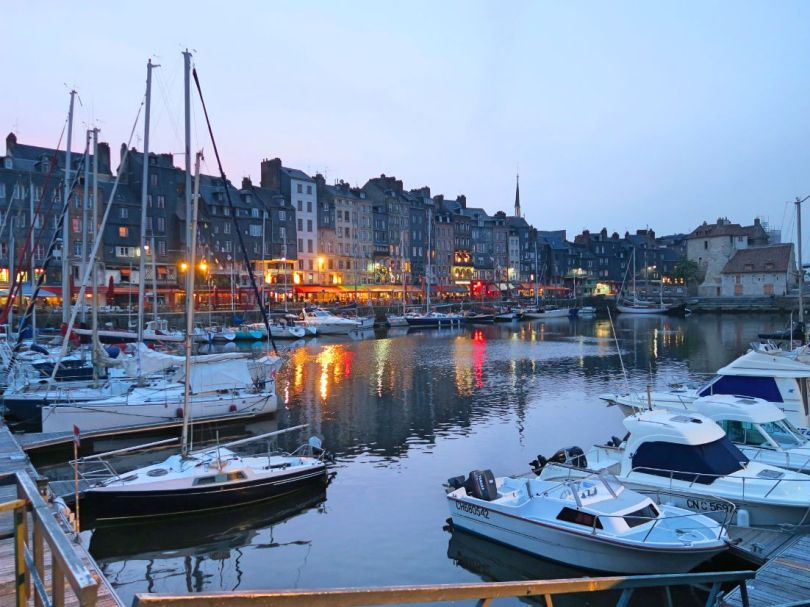 The beautiful port of Honfleur