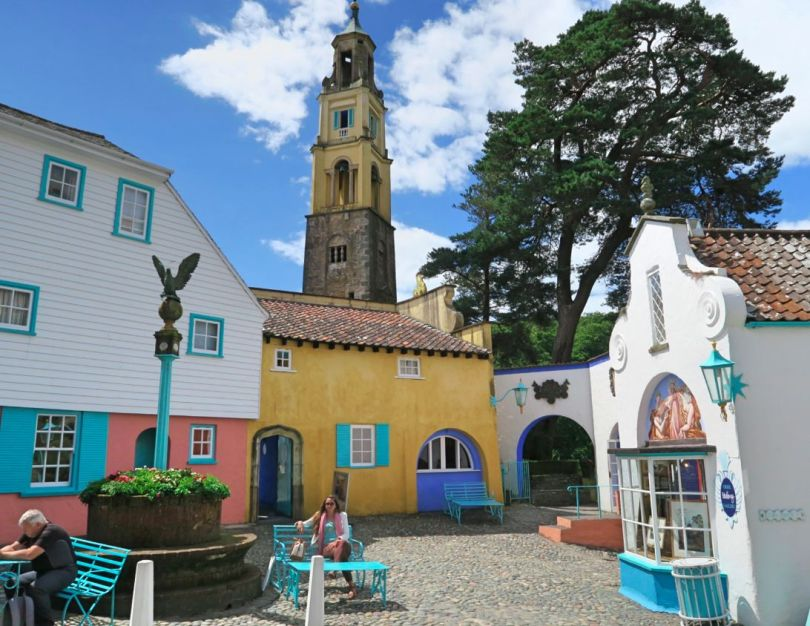 Portmeirion Wales little square