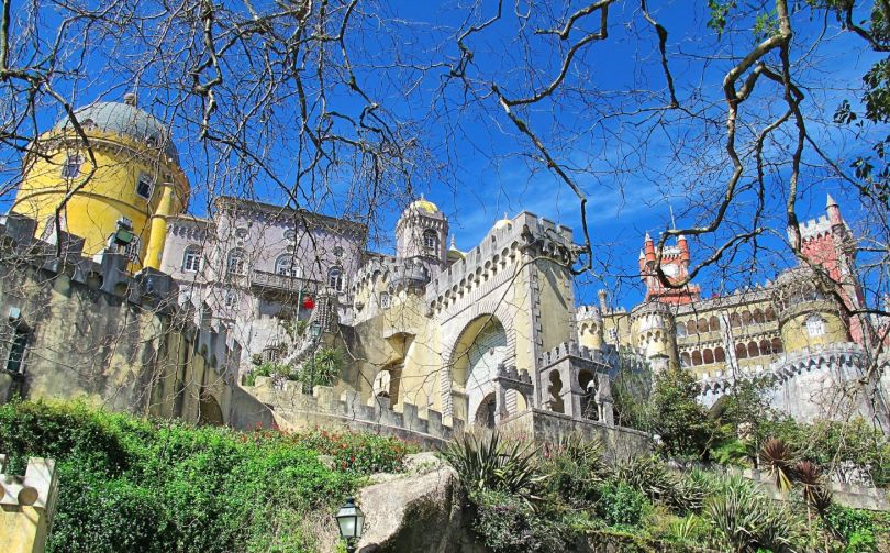 The colourful Pena Palace, Sintra