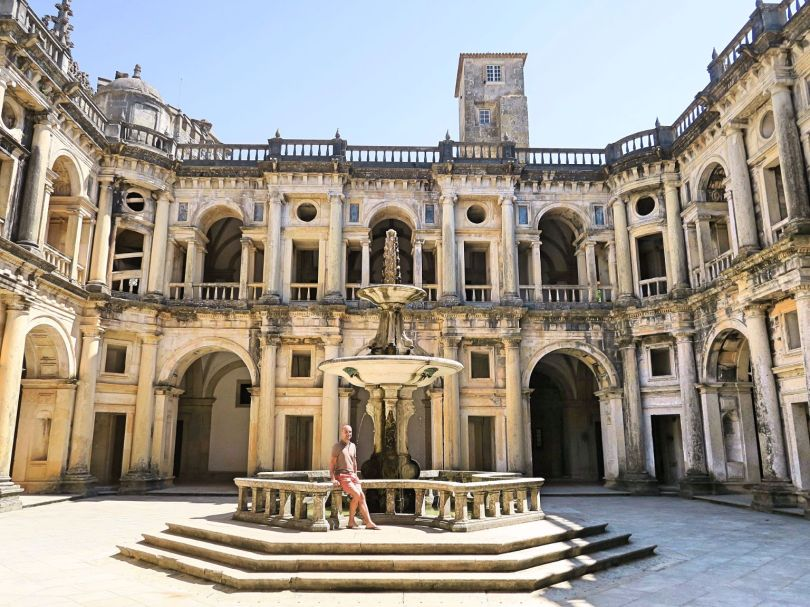 The impressive Renaissance Cloister of John III! Convent of Christ, Tomar