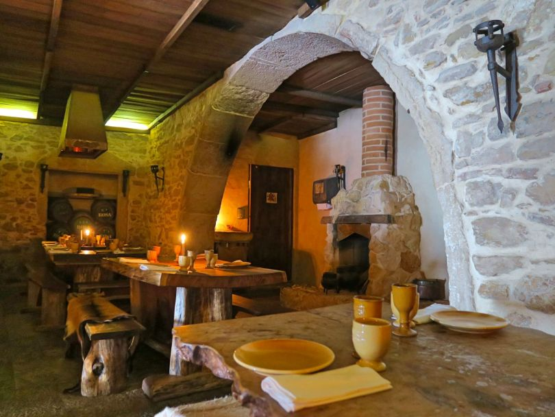 A medieval themed restaurant! Even the toilets were like from the medieval times! Taverna Antiqua, Tomar