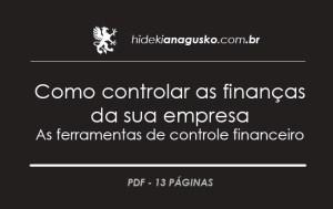 Como controlar as finanças da sua empresa – As ferramentas de controle financeiro