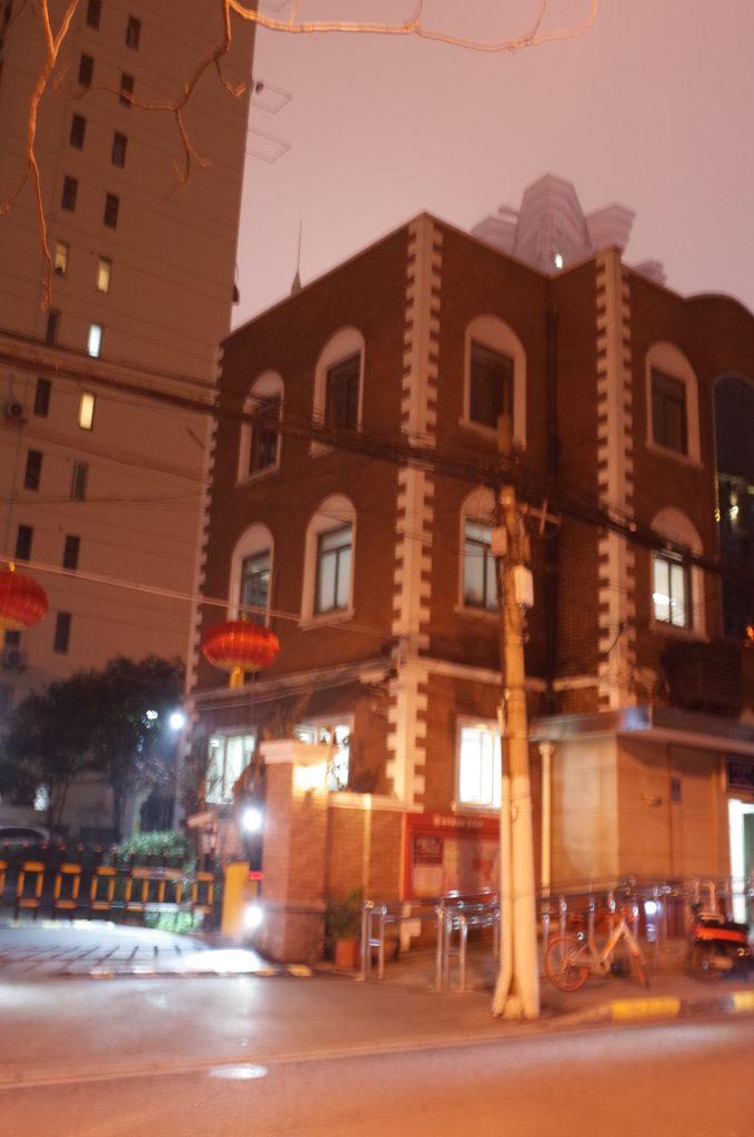 上海夜のお散歩編 静安寺付近  Hidemi Shimura