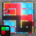 Dots and Boxes Neon 80s Style Cyber Game Squares APK Mod Download for android
