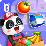 Baby Pandas Town Supermarket APK Mod Download for android