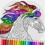 Relaxing Adult Coloring Book APK Mod Download for android