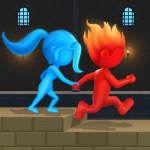 Water Fire Stickman 3D APK Mod Download for android