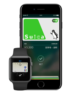 iPhone 7のApple PayがSuicaに対応