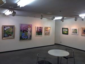 松戸女性洋画教室展