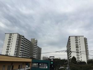 2014/10/23新松戸の空