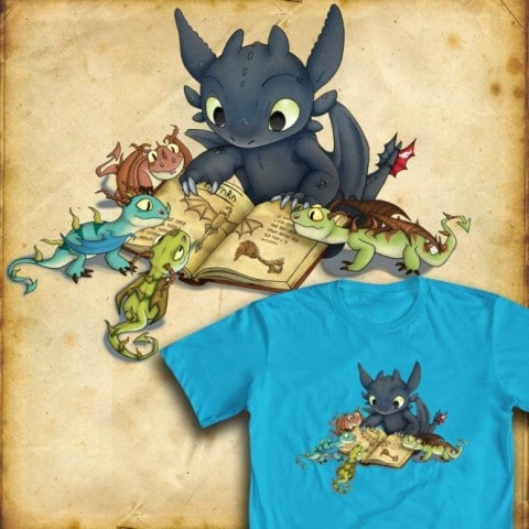 Official How To Train Your Dragon T Shirt Contest