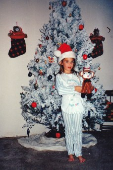 Me in some Christmas pj's.