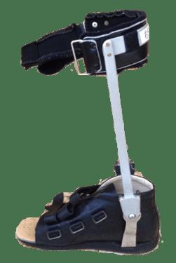 両側金属支柱付き短下肢装具 DUAFO
