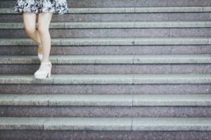 脳卒中 階段の上り方