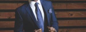 スーツの似合う