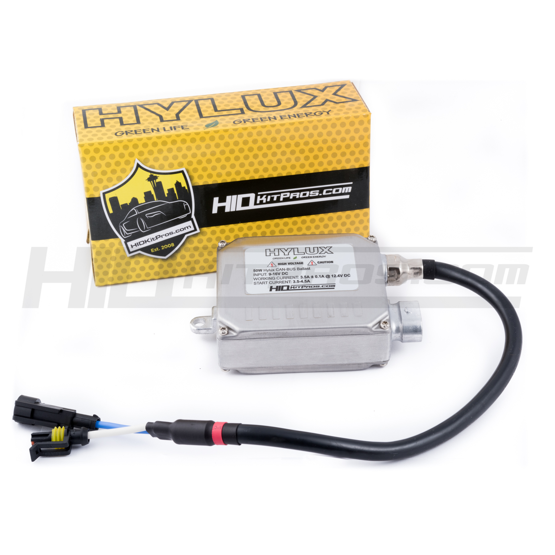 HYLUX HID CAN-Bus Ballast - 50W | 2A50 | HID Kit Pros