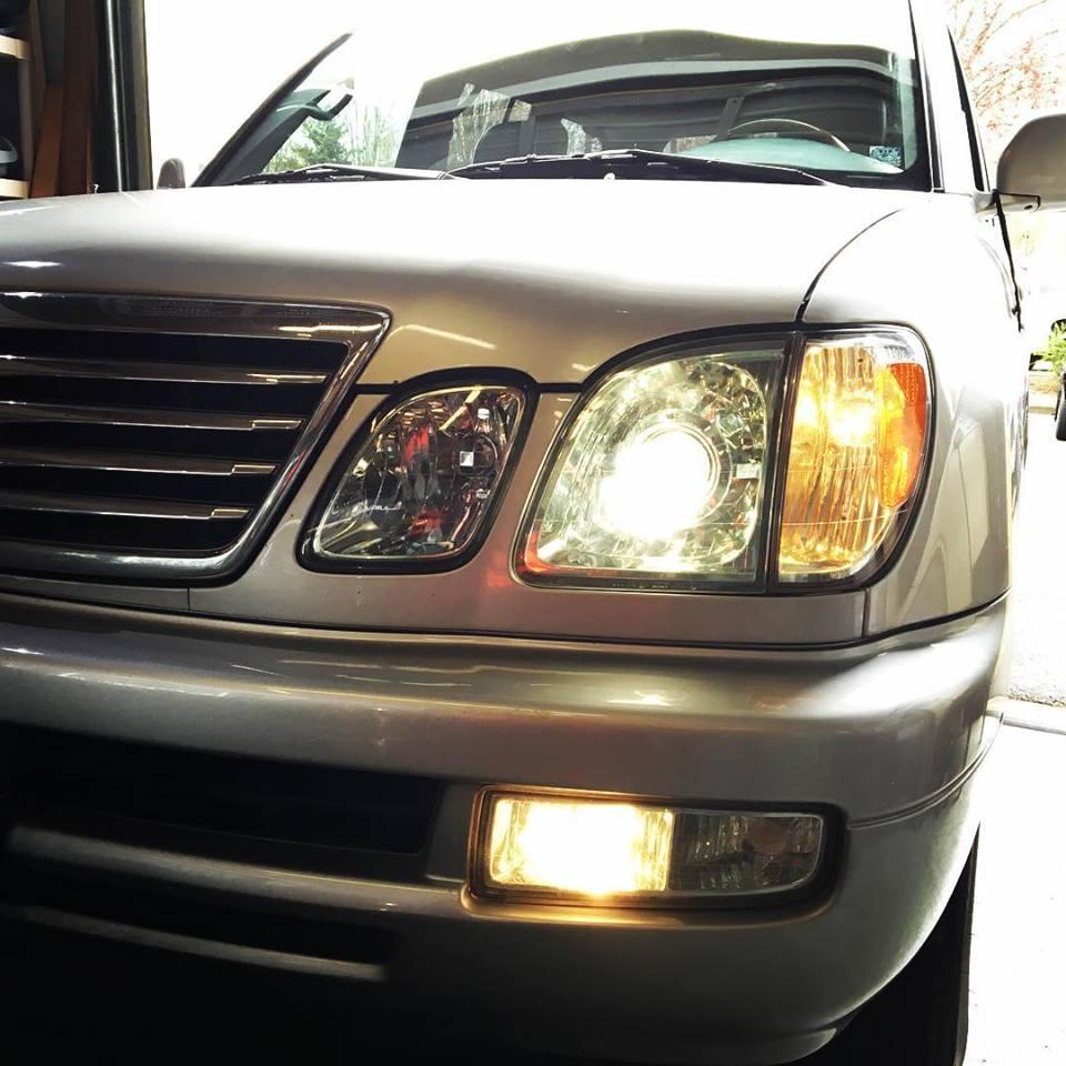 [ZHKZ_3066]  1999-2007 Lexus LX470 | HYLUX Low Beam HID Conversion Kit | Lexus Lx470 Headlight Wiring Harness |  | HID Kit Pros