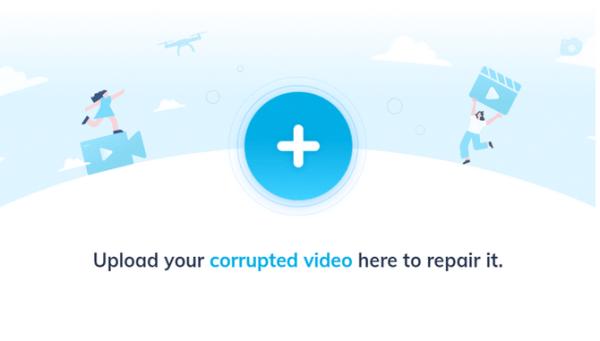 perbaiki video corrupt online 1