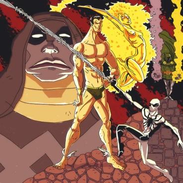 Dr. Doom-Spiderman-Nova-Ronan-Namor 2.5