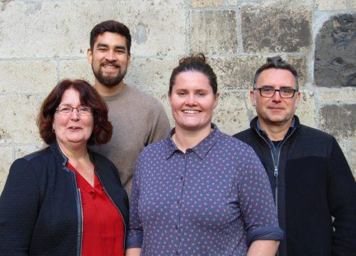 Das Team der Steuerungsstelle