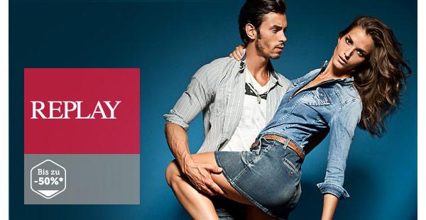 Replay Jeans Jacken für Frauen und Männer günstiger im Angebot