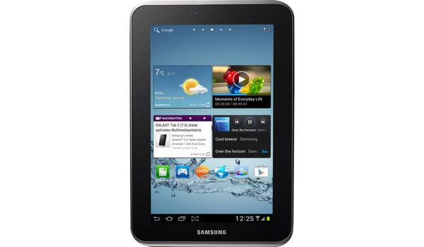 Samsung Multimedia-Tablet Galaxy Tab 2 7.0 WiFi günstiger kaufen