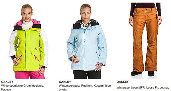 OAKLEY Wintersportjacken günstiger