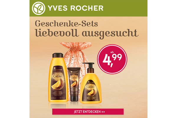 Yves Rocher Gutschein Coupon November 2014