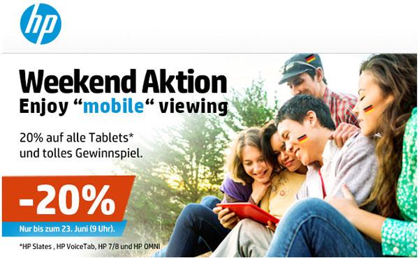 HP Slate Tablet günstiger kaufen