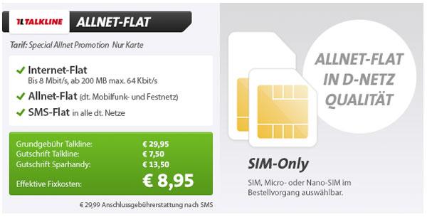 günstige Allnet-Flat Daten-Flat im Telekom D-Netz