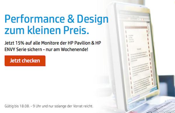 HP-Monitor günstiger kaufen