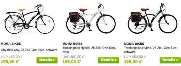 günstiges City- oder Trekkingrad