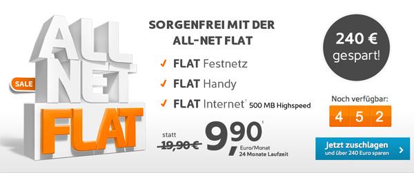 Simyo All-Net Flat günstiger