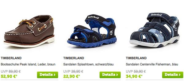 Timberland Schuhe für Kinder günstiger kaufen