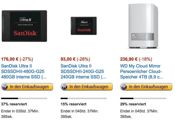 SSD Festplatte günstiger kaufen