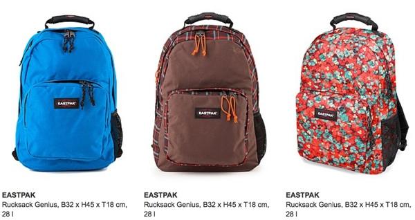 Rucksack von Eastpak günstiger kaufen
