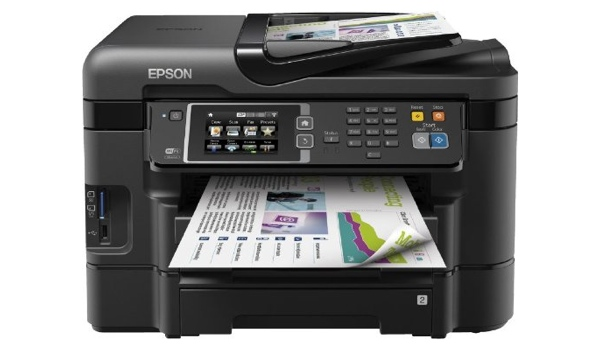 Multifunktionsgerät Epson WorkForce WF-3640DTWF  Faxen, Scannen, Drucken