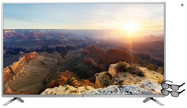 günstiger 47 Zoll 3D LED Fernseher unter 600 Euro