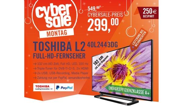 günstiger 40 Zoll LED Fernseher unter 300 Euro