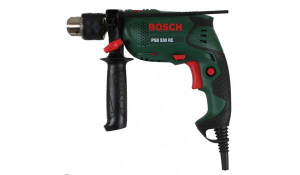 günstige Schlagbohrmaschine Bosch PSB-530-RE
