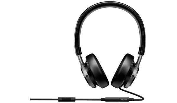 guter und günstiger OnEar Kopfhörer Philips Fidelio M1 mit Headsetfunktion