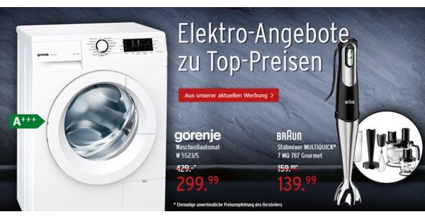 günstige Fernseh- und Eltronikangebote bei karstadt.de