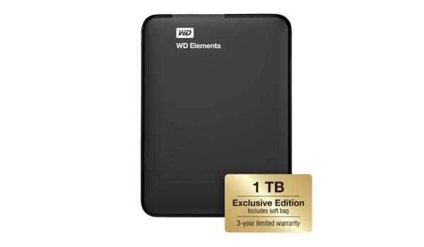 günstige extrene Festplatte mit 1Terrabyte TB Speicher