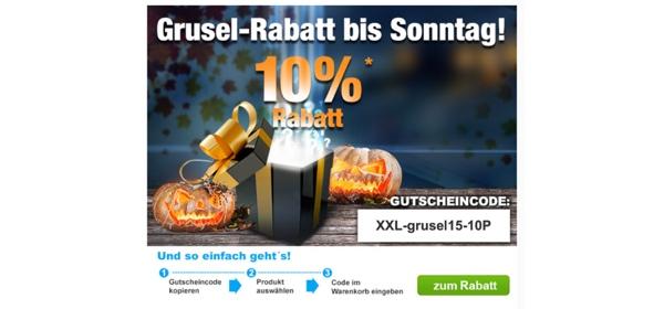 Garten XXL Gutschein 10% Rabatt auf alles
