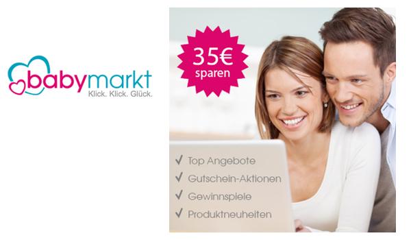 Baby-Markt Gutschein 35 Euro sichern
