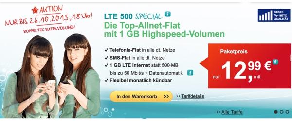 günstiger Smartphone-Tarif Vieltelefonierer und Viel-Surfer helloMobil