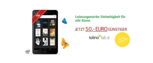 Thalia tolino Tablet 8 Zoll günstiger im Angebot kaufen