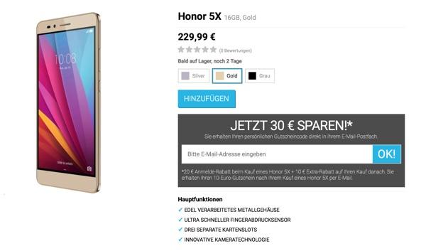 Huawei Honor super Smartphone für unter 200 Euro
