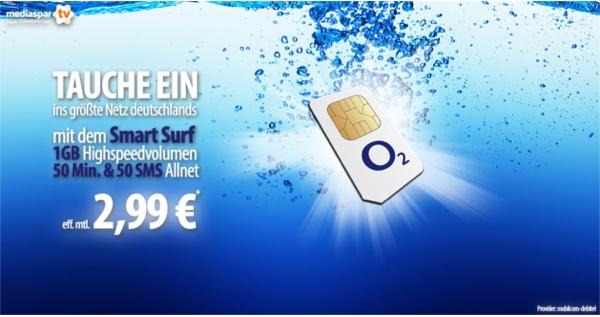 günstiger Smartphonevertrag mit Internet Flat 1GB Freiminuten und Frei-SMS